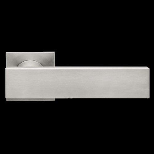 Karcher Design Milano ER52Q Door Lever Handle on a Square Rose